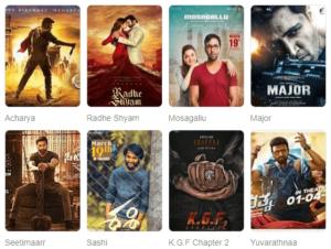 2021 upcoming telugu movies on aha, primevideo and Netflix