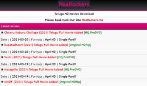 NaaRockers Telugu Movies 2021