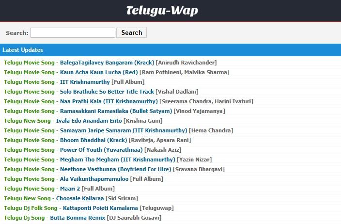 Teluguwap Telugu Movies 2021